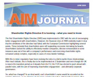 Shareholder Rights Directive II Looming