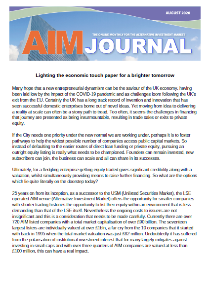 Lighting The Economic Touchpaper For A Brighter Tomorrow
