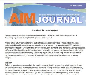AIM Journal October 2021